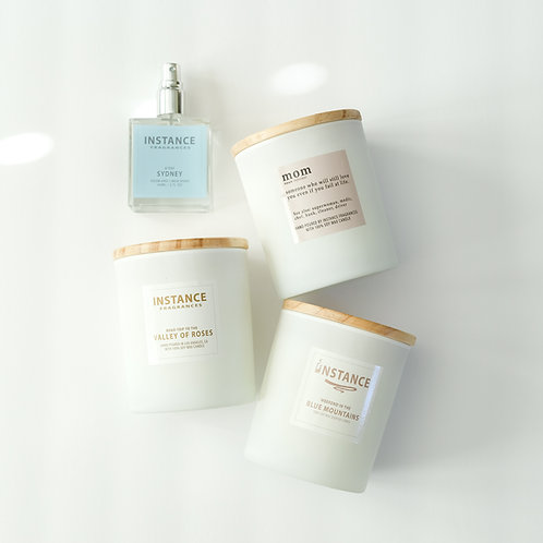 Candle Trio Large + Room Spray