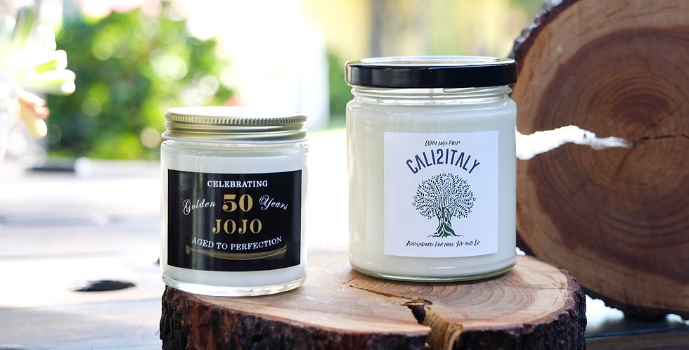 Personalized Candle or Party Favors