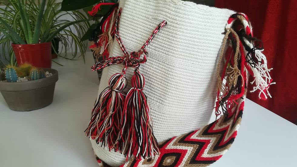 Mochila unie Wayuu Colombie