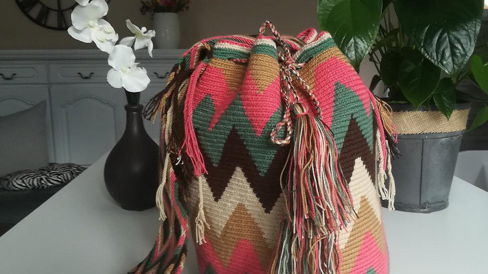 Mochila motif Wayuu Colombie
