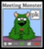 Meeting monster logo