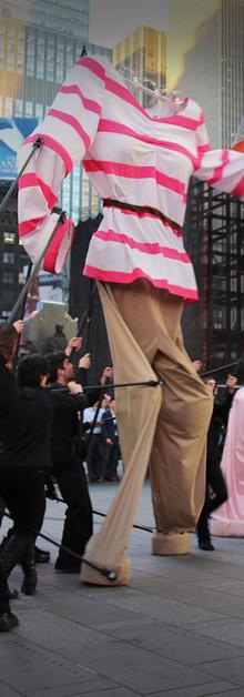 LG TwinWash Times Square