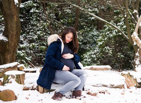 freezing morning at Cannizzaro, waiting for baby Oliver