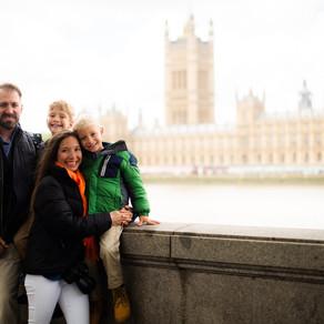 Ben's & Andrew's visit to London