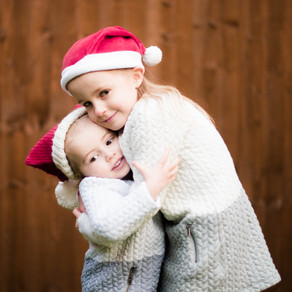 Evie & Ella - this and last Christmas