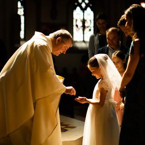 Elisa's First Communion