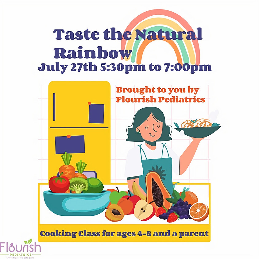 Taste the Natural Rainbow Cooking Class