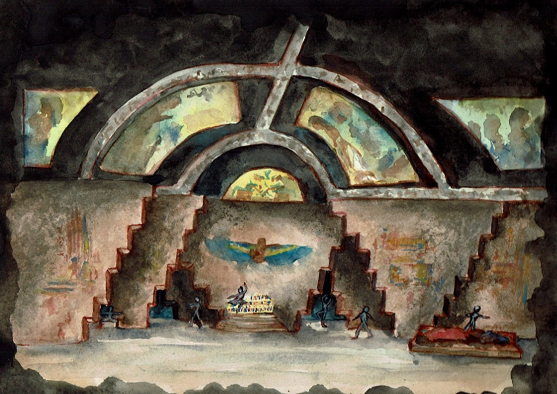 Inside Pyramid/Tomb