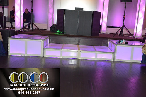 LED Stages 4Ft X 4Ft