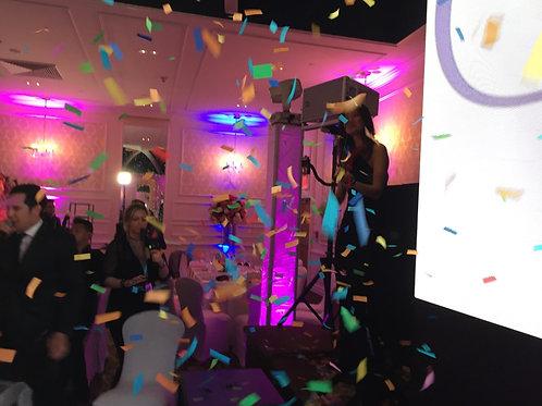 Confetti Canon Grand Entrance