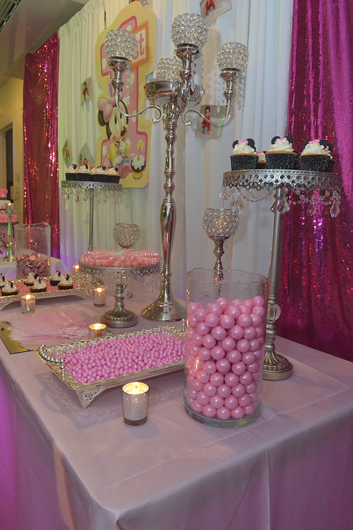 Candy Table Set Up