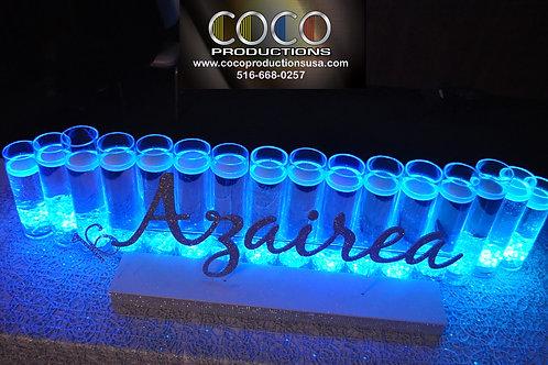 Candle Lighting Set Up