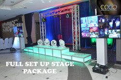 FULL SET UP STAGE PACKAGE