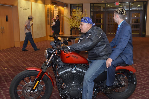 Grand Entrance Motorcycle