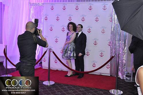 Red Carpet Photo Station