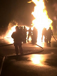EOVFD live fire training