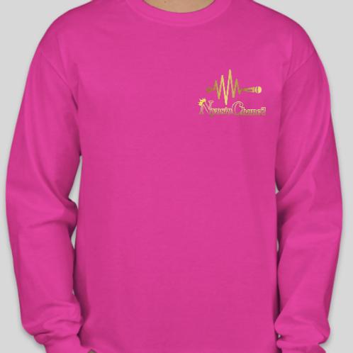 Nyasia Chane'l Sweatshirt Pink