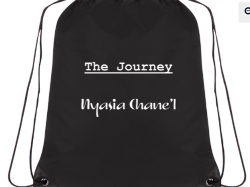 The Journey Drawstring Backpack