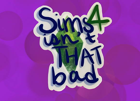 Sims 4 stickers