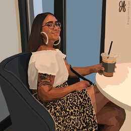 Commissioned portrait that I finished in July 2020