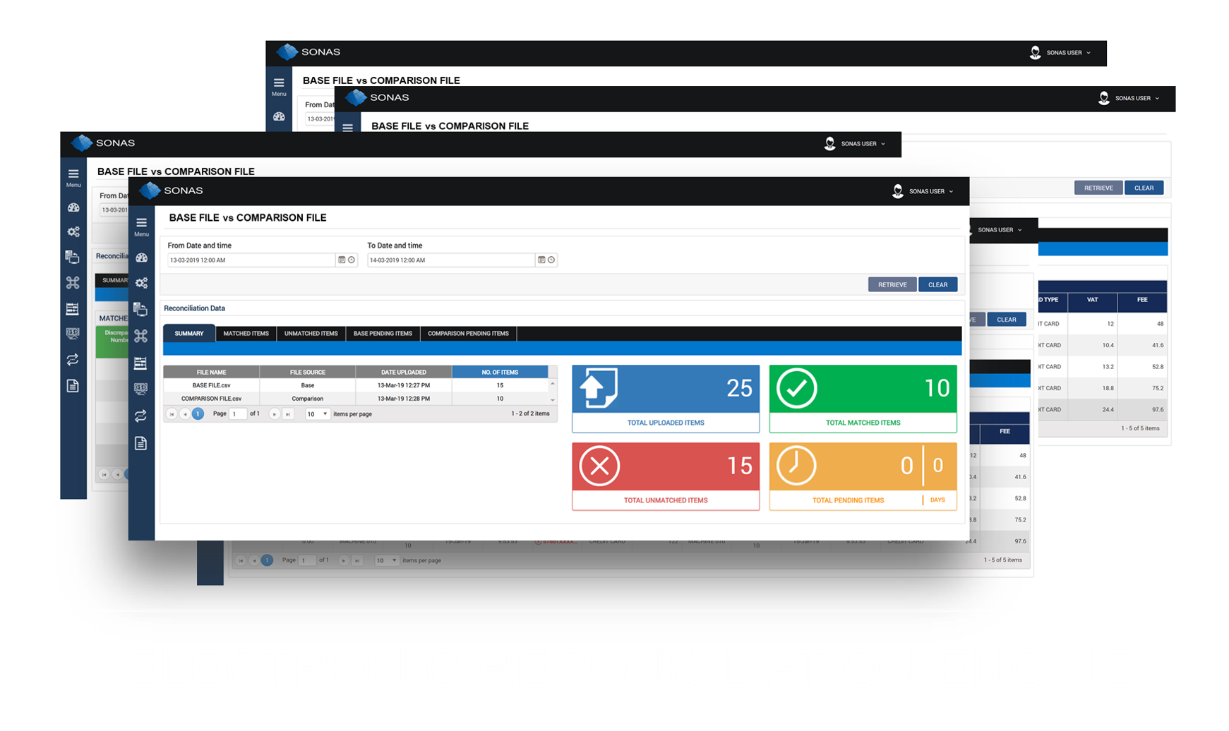 ELECTRONIC RECONCILIATION ENGINE
