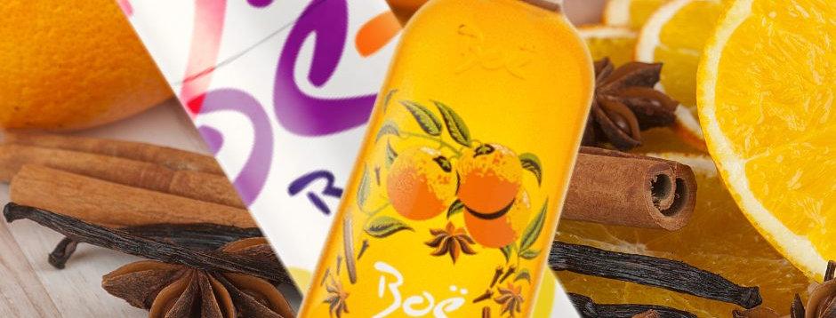 Boe Spiced Orange Gin Liqueur & Giftbox