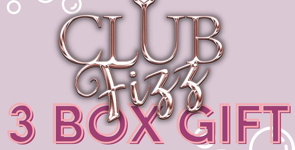 3 Months Club Fizz Gift