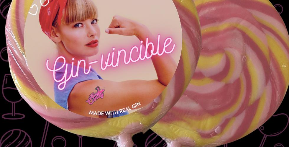 'Gin-Vincible' Pink Gin & Lemonade Giant Lolly
