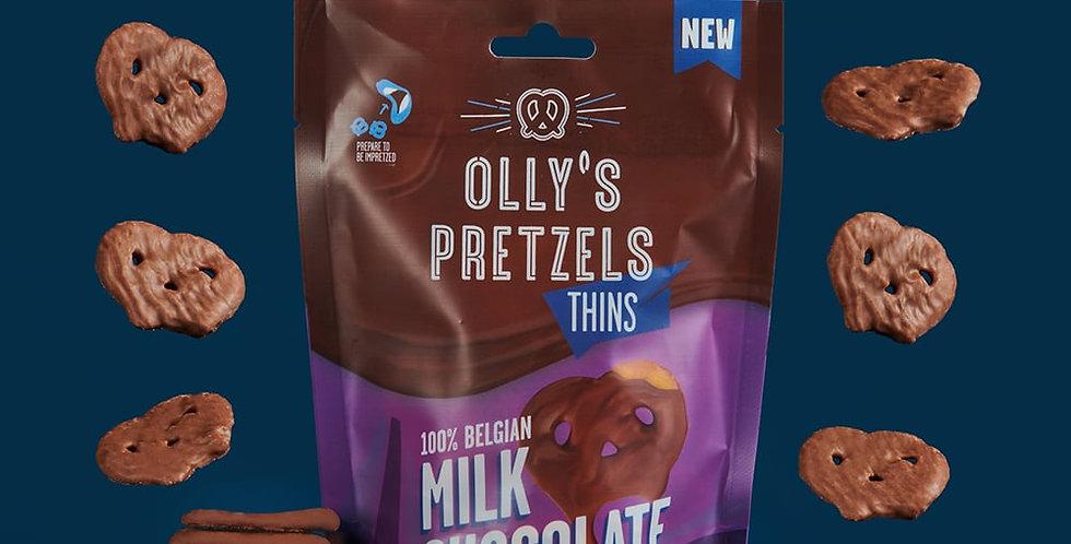 Milk Chocolate Pretzel Thins