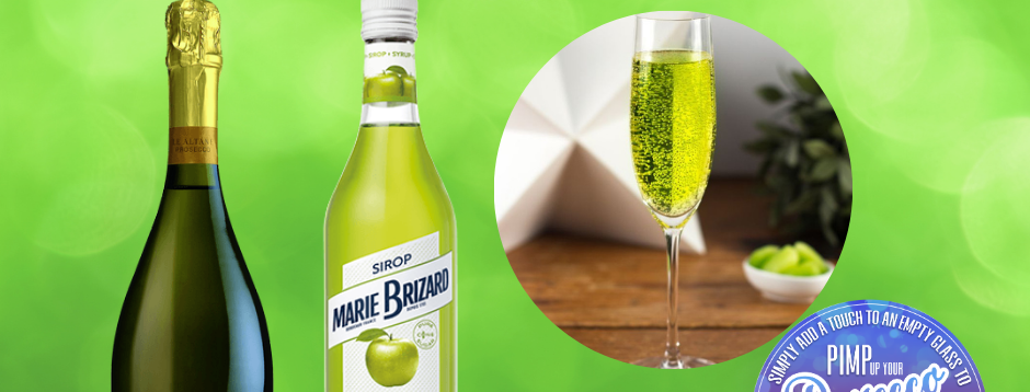 Fizzy Apples, Prosecco Cocktail