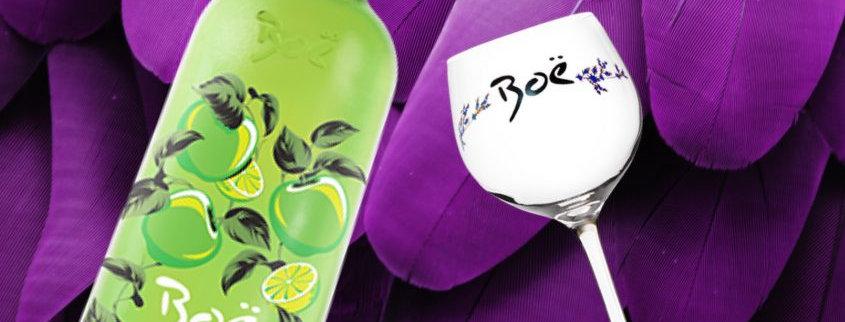 Boe Apple & Lime & Glass Giftset