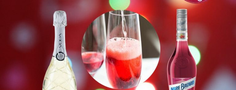 Raspberry Royale, Prosecco Cocktail