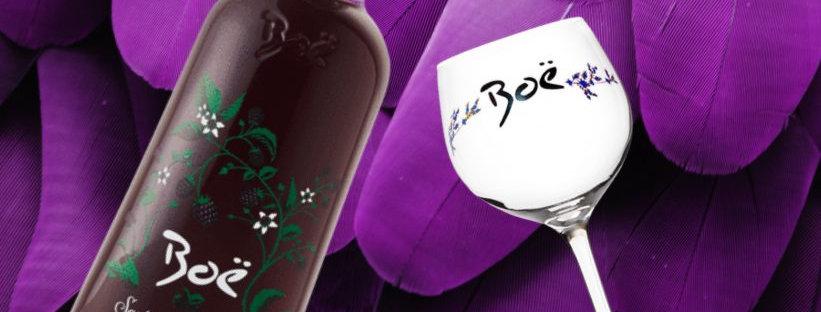 Boe Scottish Bramble & Glass Giftset