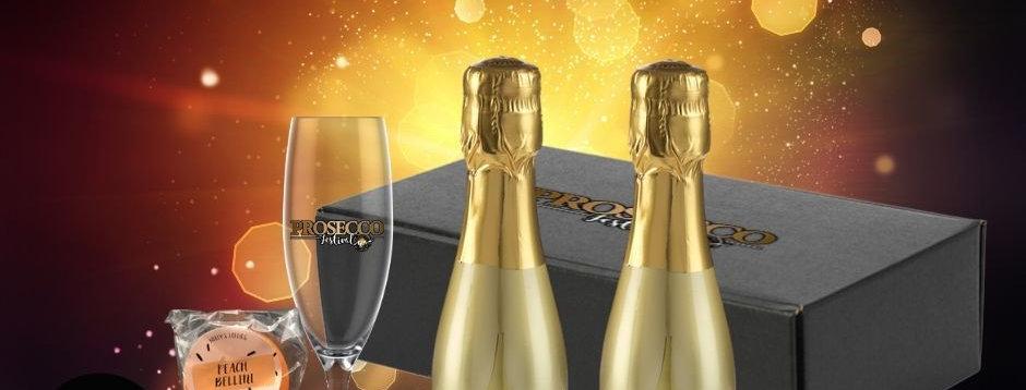 PROSECCO FESTIVAL LOCK-IN - 2x Bottega gold mini