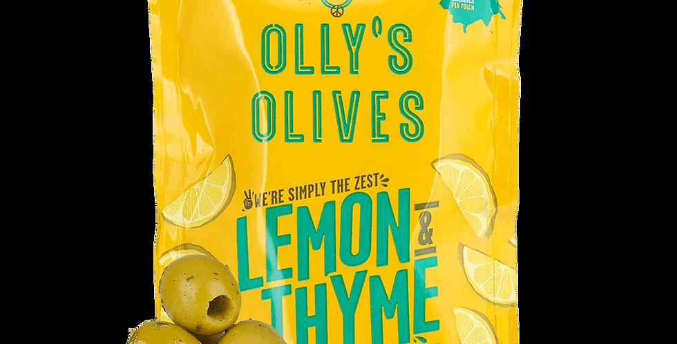 Lemon & Thyme Green Olives