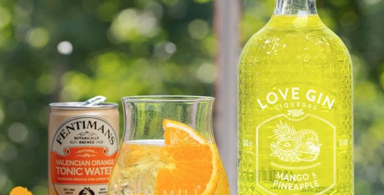 Eden Mill Mango & Pineapple, Gin Liqueur
