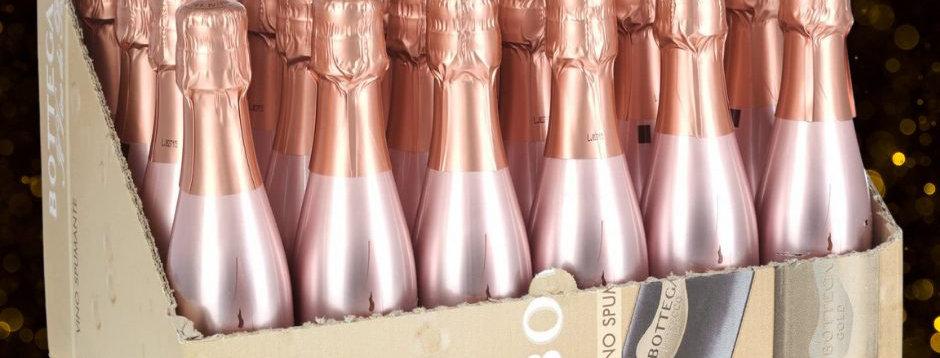 Bottega Rose Gold Mini Case Of 24
