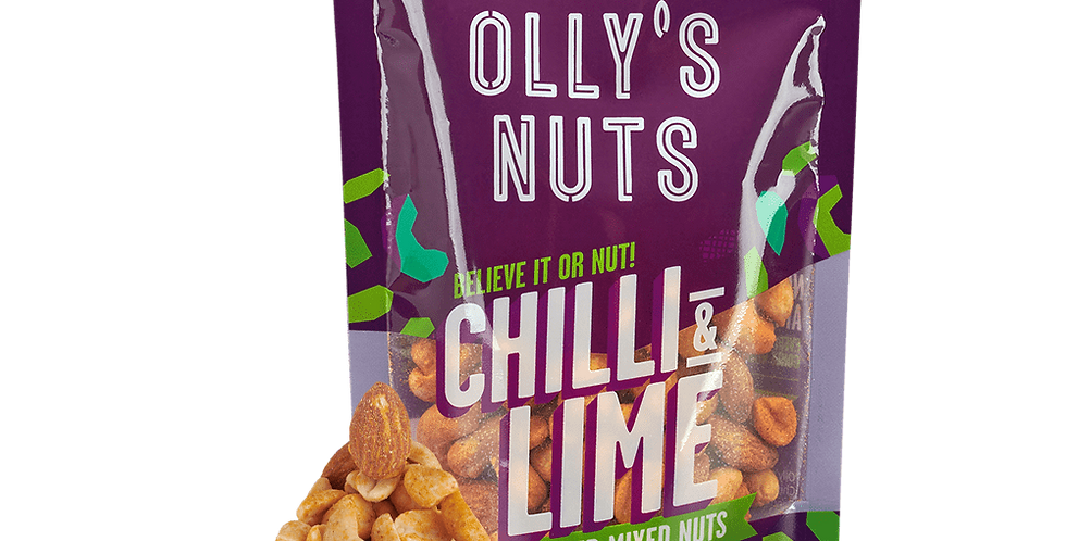 Chilli & Lime Seasoned Mixed Nuts