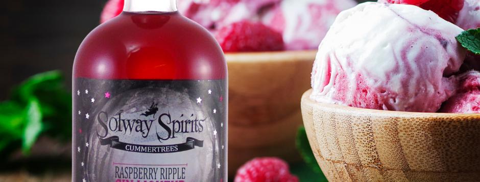 Solway Raspberry Ripple Gin Liqueur