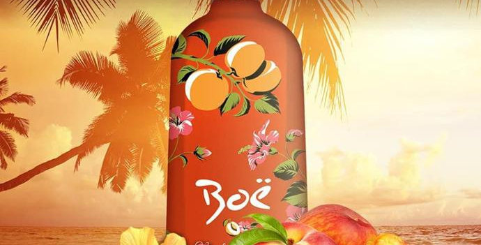 Boe Peach & Hibiscus Gin Liqueur