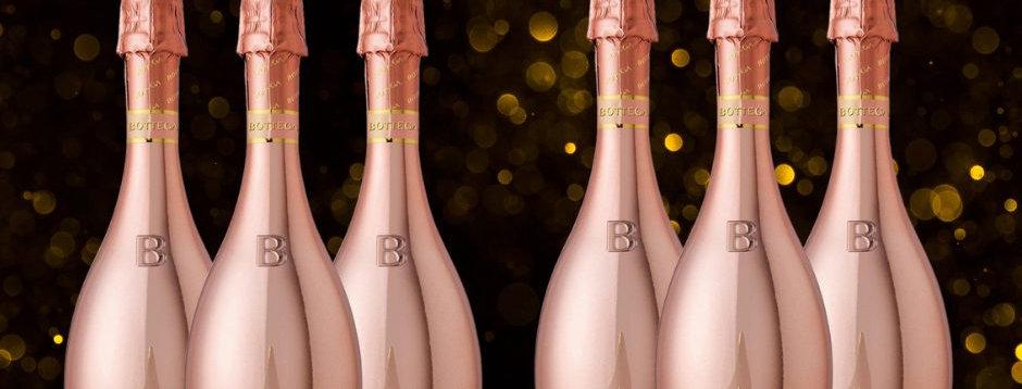 Bottega Rose Gold Case Of 6
