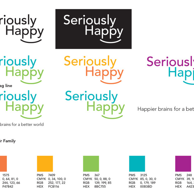 Seriously Happy Branding