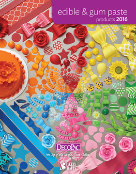 Edible & Gum Paste Cover 2016