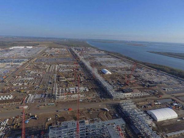 CCJV Cameron LNG Work Site