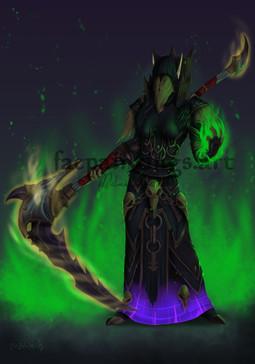Erenya, Warlock
