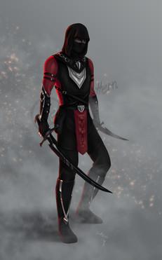 My main ESO character, Hyadriil Marvroth, slavehunter of House Dres