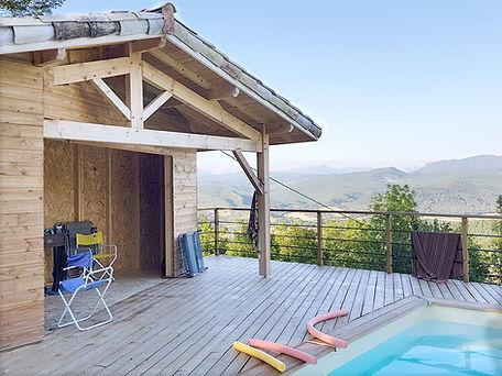 Pose de terrasses extérieures en bois