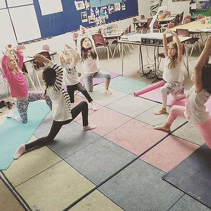 Super strong yogis all week long! We've been discussing the importance of being physically