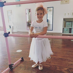 Practicing at the ballet barre is an exc