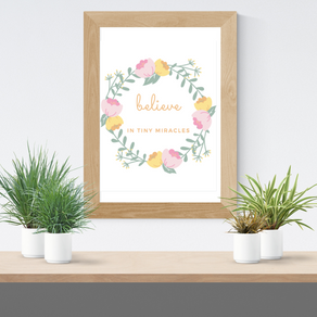 nicu/preemie mom milestone cards + positivity printables